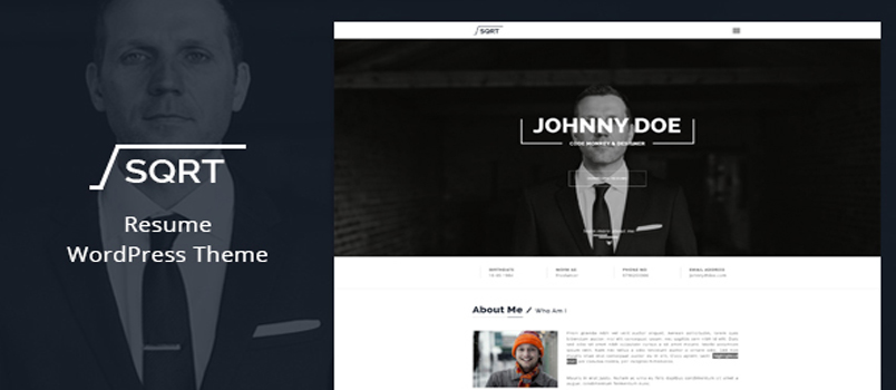 grab this month u2019s  june  free wordpress resume theme