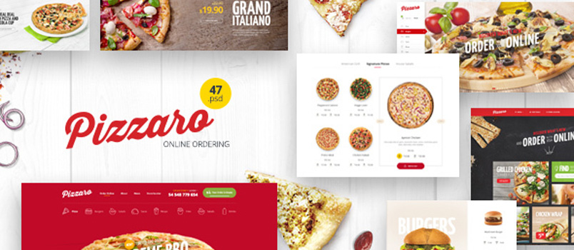 Grab This Month\'s (August) FREE Food Ordering eCommerce Template ...